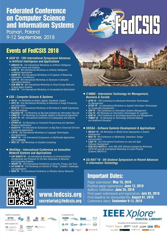 31a1f749f3 FedCSIS 2018 Poster (pdf)