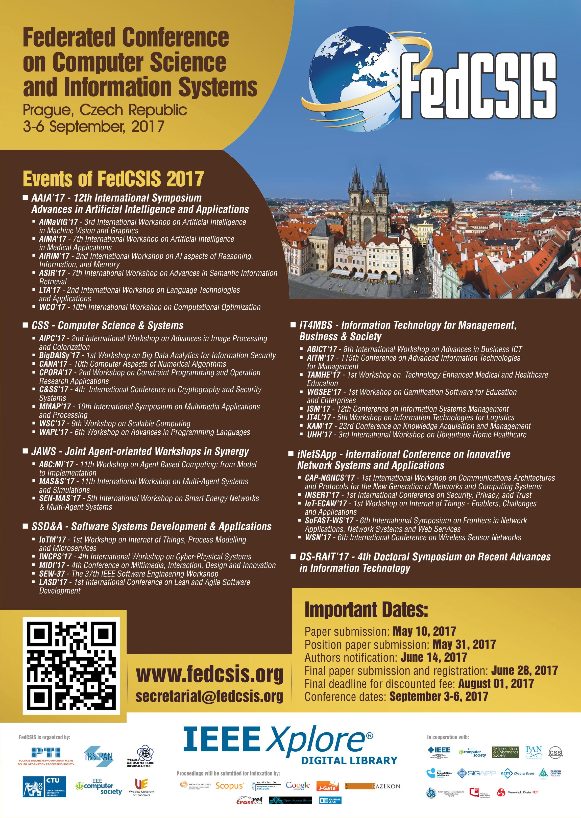 FedCSIS 2017 – poster